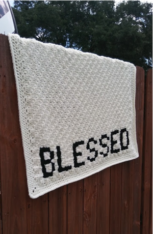 Blessed C2C Crochet Blanket Pattern