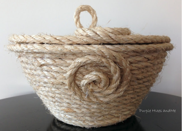 Coiled Rope Basket DIY