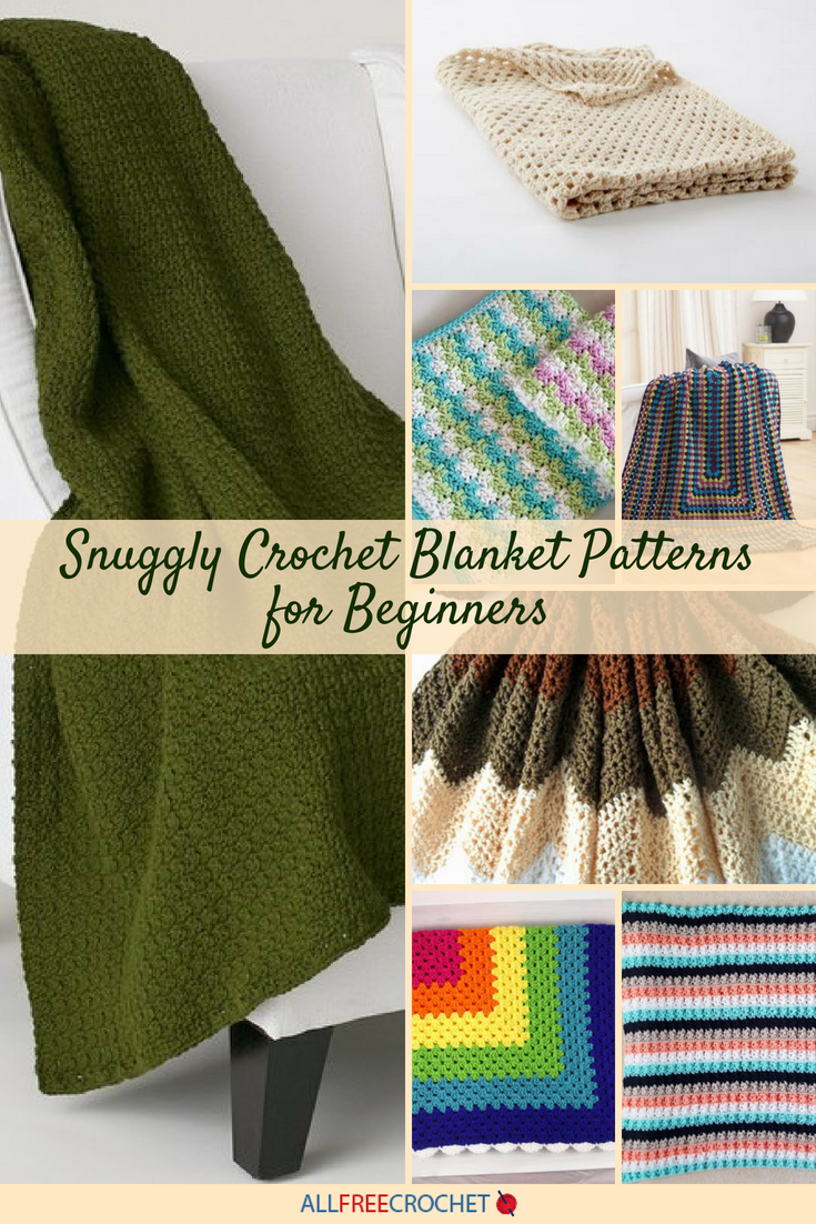 25 Snuggly Crochet Blanket Patterns For Beginners Allfreecrochet