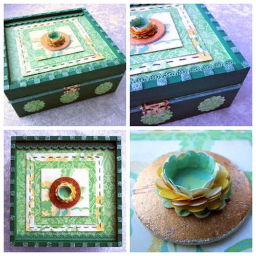 Summer Green Knick Knack Box