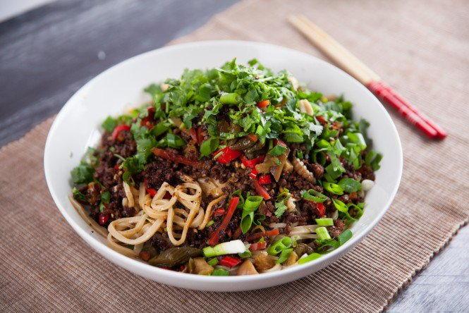 Sichuan Dan Dan Noodles Recipelion Com