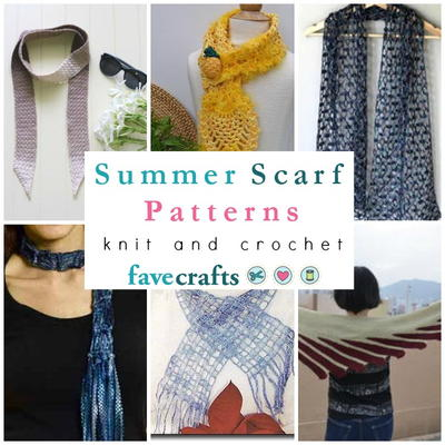 15 Summer Scarf Patterns