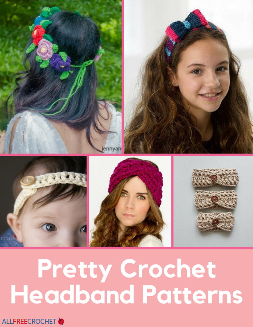 70 Crochet Headband Patterns Allfreecrochet