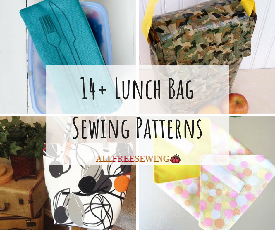 93a9a3c4d96e 14+ Lunch Bag Sewing Patterns