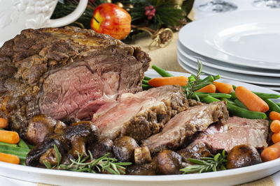 Roasted Holiday Prime Rib