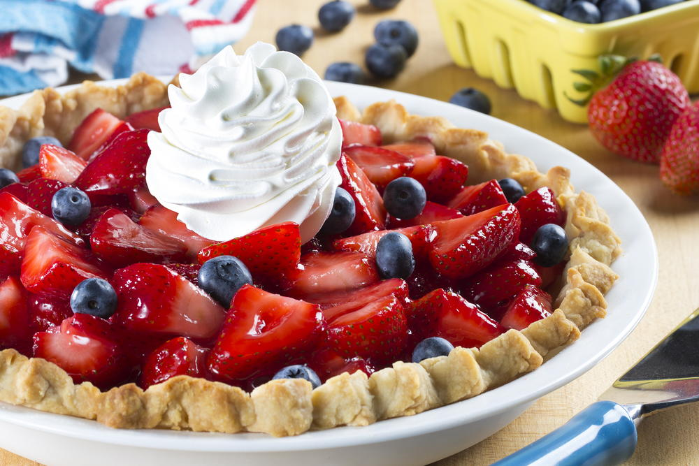 Ooh So Easy Fresh Strawberry Pie Mrfood Com