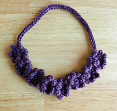 Crochet Flower Necklace Tutorial Allfreecrochetcom