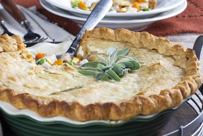 Gobble-It-Up Turkey Pot Pie