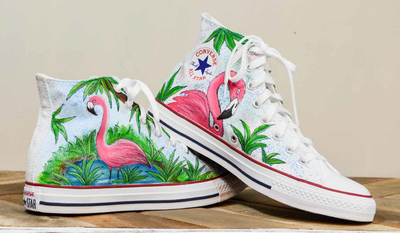 Pink Flamingo Shoes