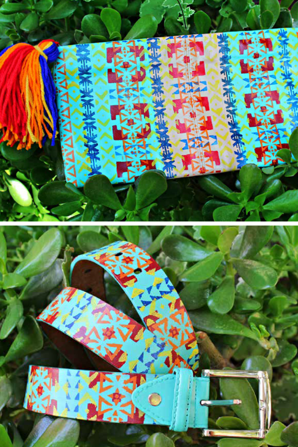 Navajo Clutch & Belt