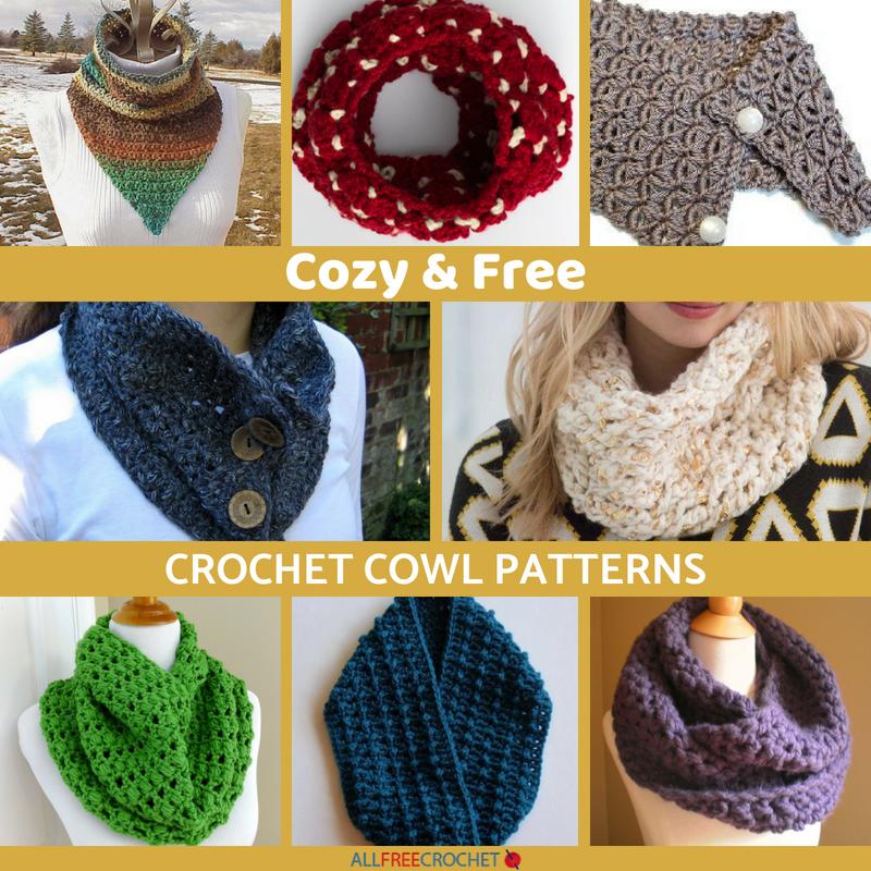 18 Cozy Free Crochet Cowl Patterns Allfreecrochet
