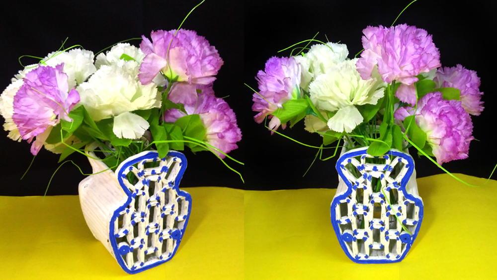 Newspaper Flower Vase Favecrafts Com