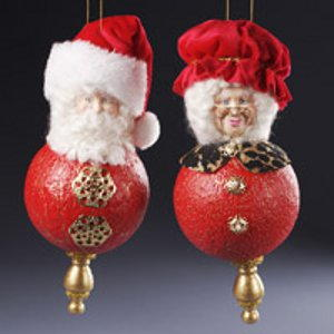 Claus Finial Ornament