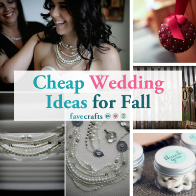 Cheap Wedding Ideas for Fall