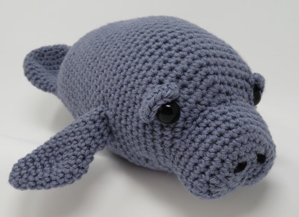 Crochet Baby Manatee