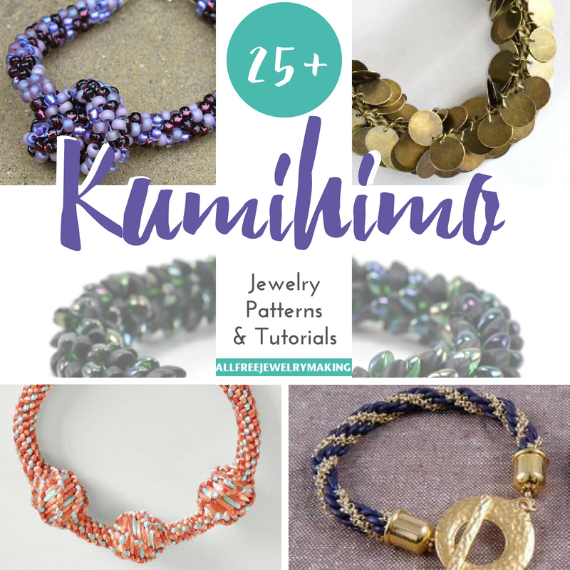 25 Kumihimo Jewelry Patterns And Tutorials Allfreejewelrymaking Com