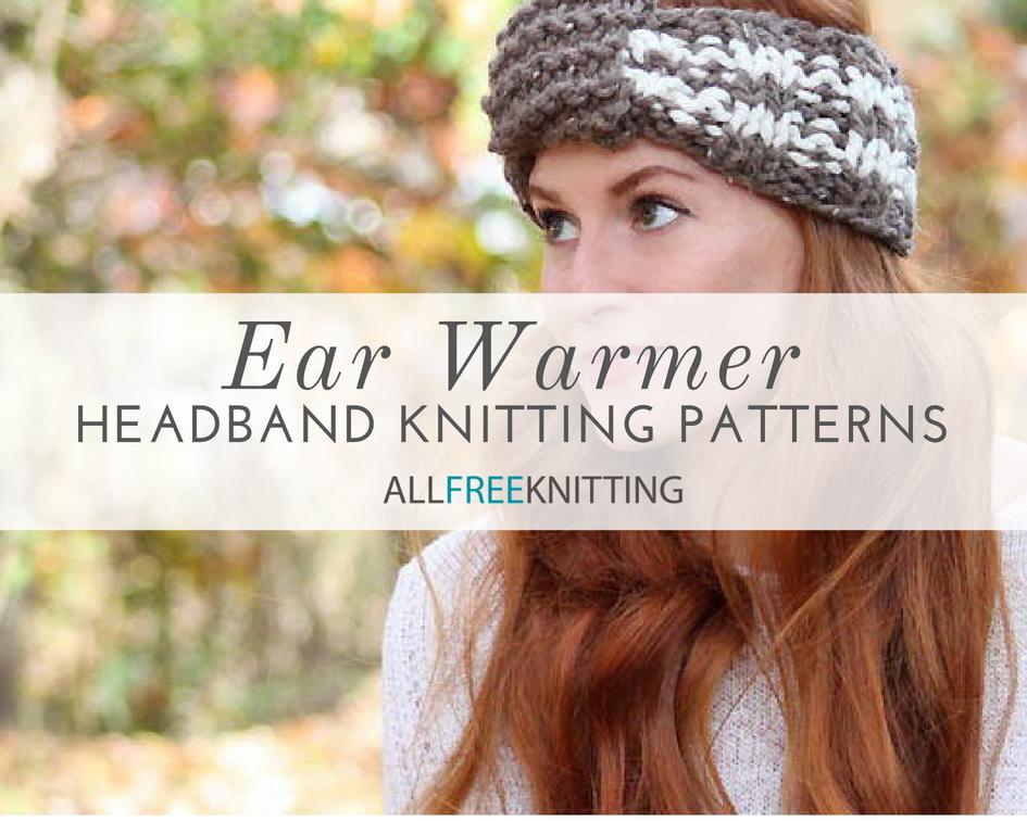 b7ff5f75aad 27 Ear Warmer Headband Knitting Patterns