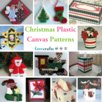 17 Christmas Plastic Canvas Patterns