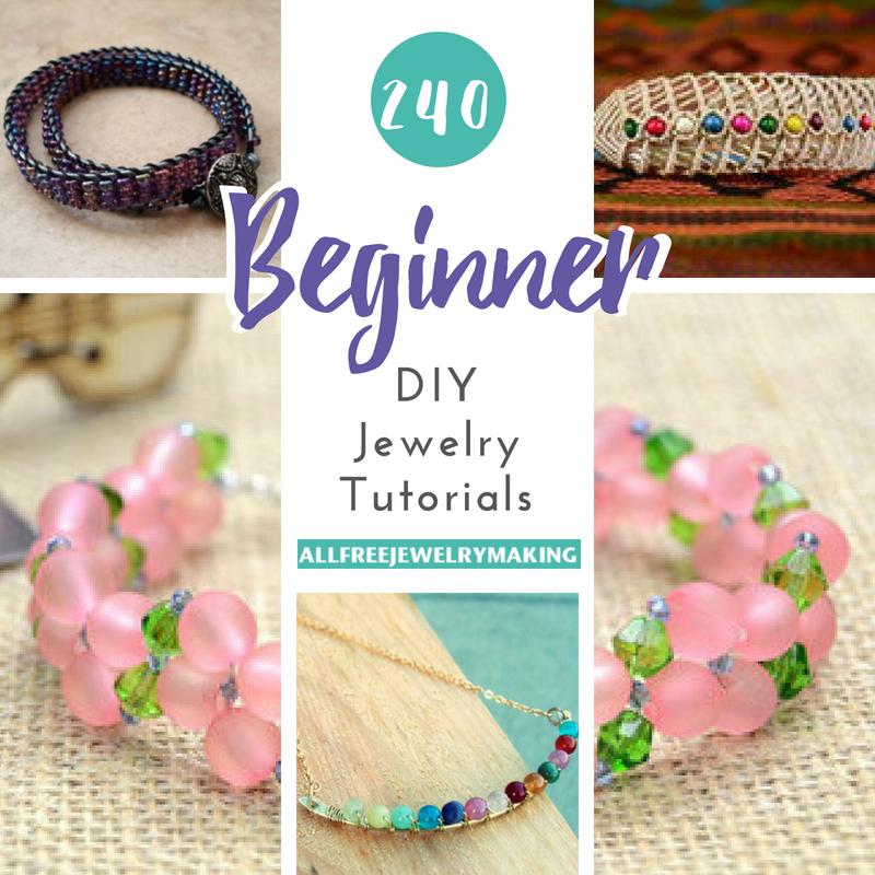 DIY beaded brooch Jewelry tool set
