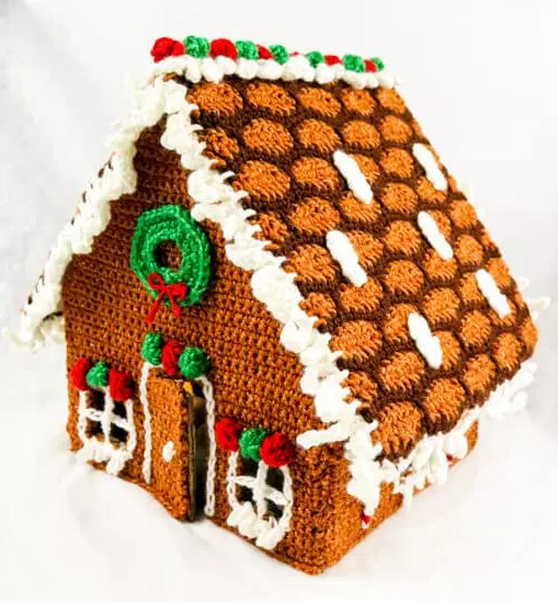 Groovy Crochet Gingerbread House Allfreecrochet Com Download Free Architecture Designs Rallybritishbridgeorg
