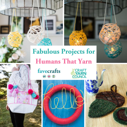 4 Fabulous Projects for Humans That Yarn