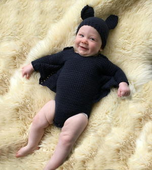 Baby Bat Crochet Costume