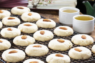 Chinese Almond Rounds