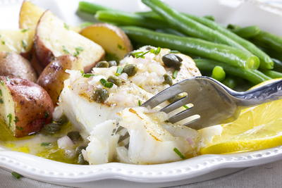 Lemon-Caper Fish Fillets