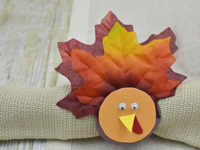 Thanksgiving DIY Napkin Rings