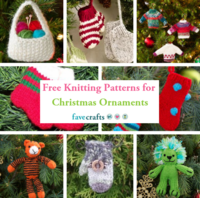 8 Free Knitting Patterns for Christmas Ornaments