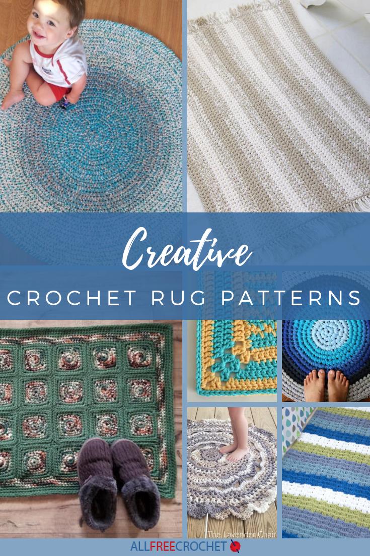 26 Creative Crochet Rug Patterns Allfreecrochet Com