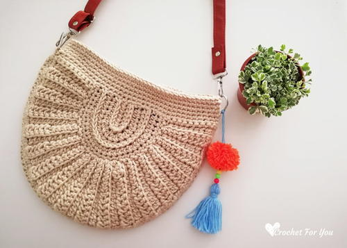 Crochet Seashell Bag