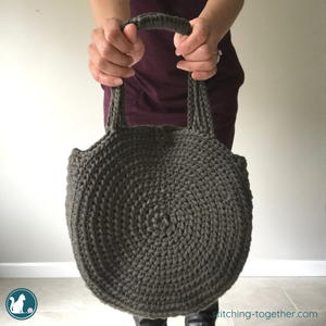 Cities Circle Crochet Bag