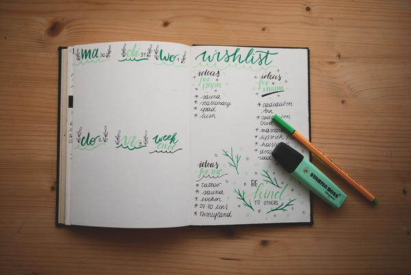 Ultimate Bullet Journal Cheat Sheet
