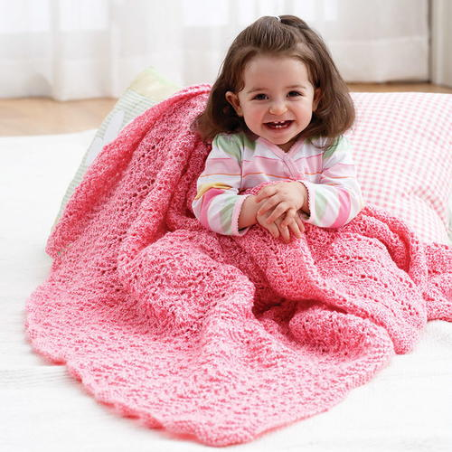 Lacy Stitch Blanket