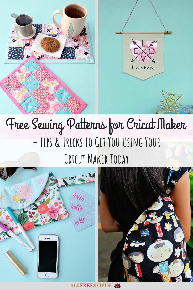 79ab661b16dd3 10 Free Cricut Maker Sewing Patterns + Tips   Tricks To Get You Using Your  Cricut Maker Today