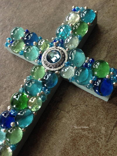 Breathtaking Mosaic Cross Tutorial
