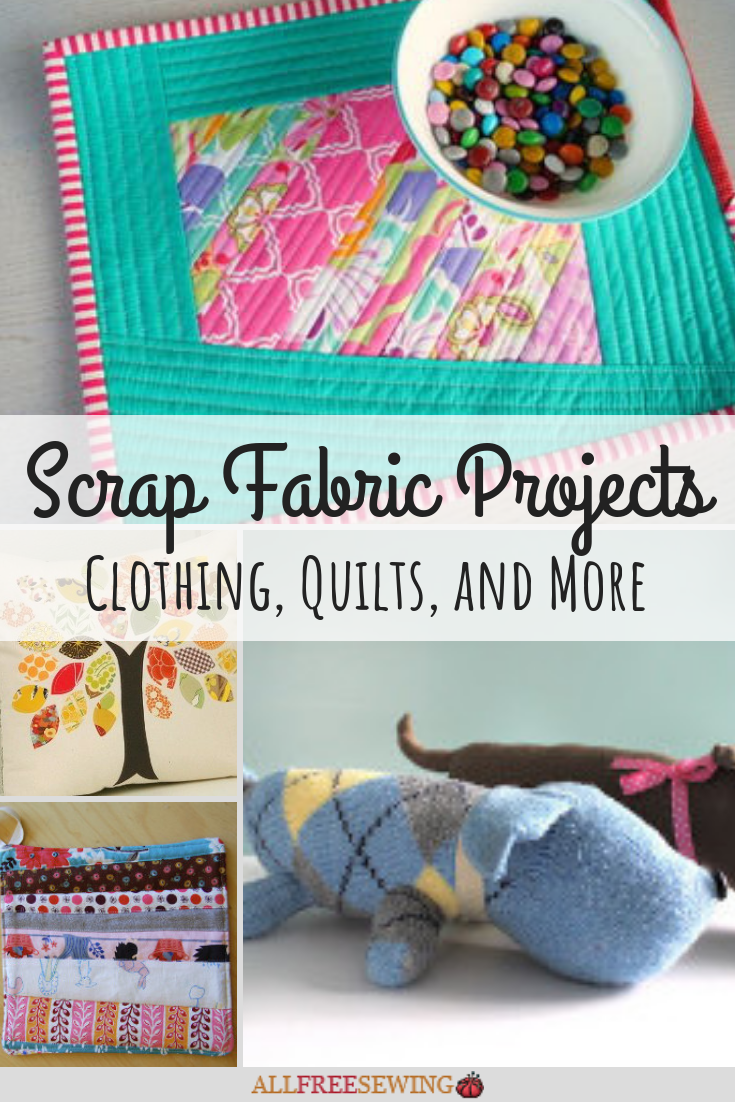 40 Scrap Fabric Projects Clothing Quilts And More Allfreesewing Com