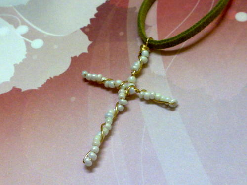 How to Make a Cross Pendant with Wire