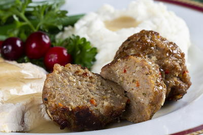 Simple Sausage and Stuffing Meatballs