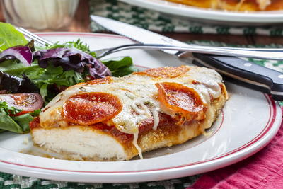 Pepperoni Pizza Chicken