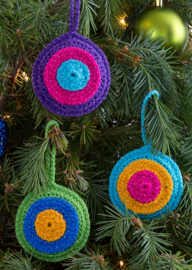 Bulls Eye Ornament