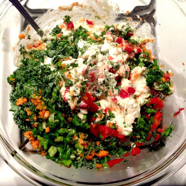 Make At Home Trader Joe S Spinach Amp Kale Greek Yogurt Dip