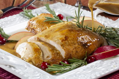 Grannys Cider Baked Turkey Breast