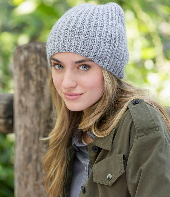 68a8e5d23f2412 Nice and Easy Beanie Pattern | AllFreeKnitting.com