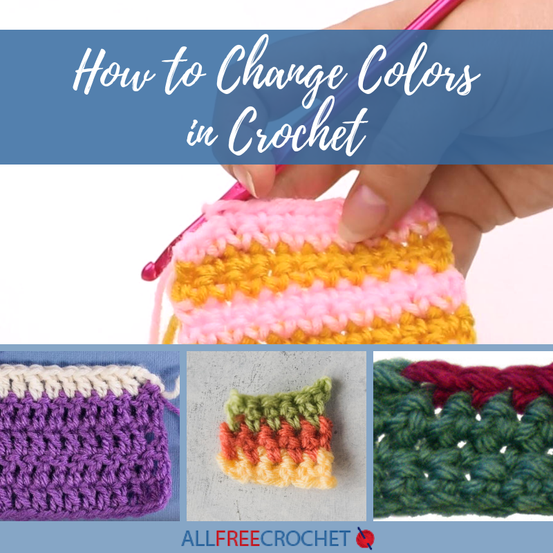 How To: Jogless Colour Change For The Perfect Crochet Stripe ... | 800x800