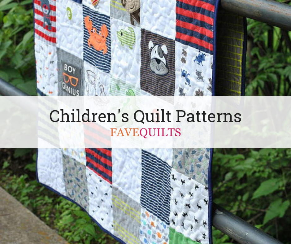 26 Free Children S Quilting Patterns Favequilts Com