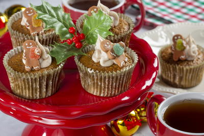 Mrs Claus Famous Cupcakes