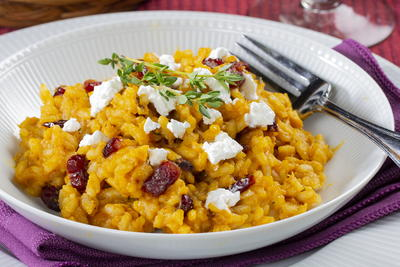 Easy Pumpkin Risotto