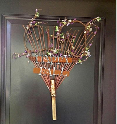 Rake Fall Home Door Decor